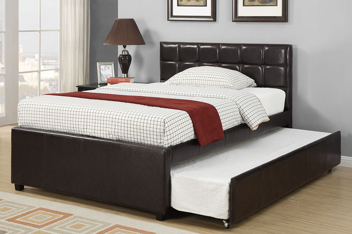 F9215T Bedroom Twin Size Bed w/ Trundle