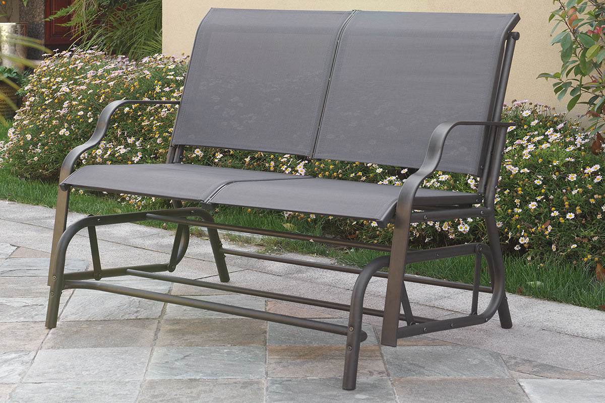 P50118 Outdoor Outdoor Loveseat Glider