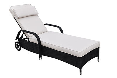 P50163 Outdoor Adjustable Lounger