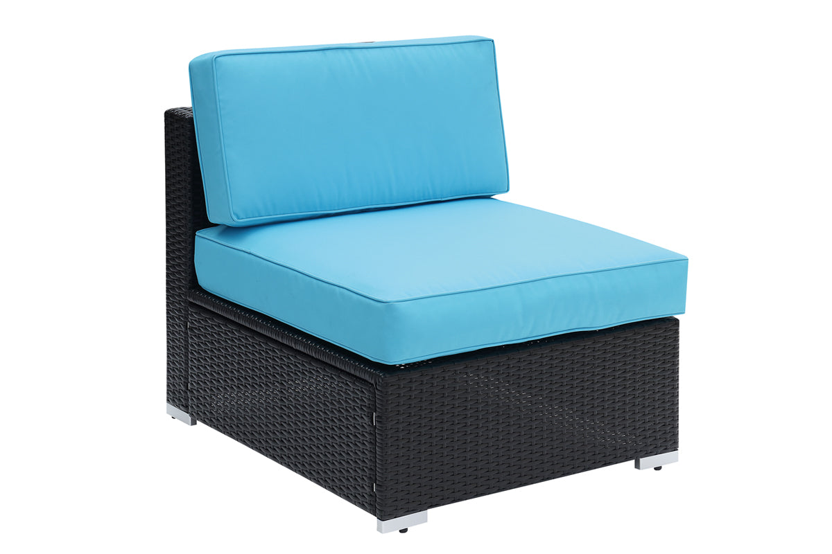 P50313 Outdoor Armless Chair