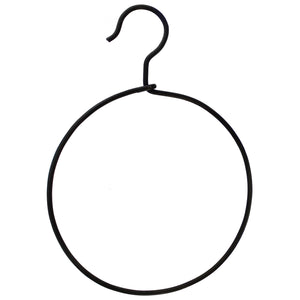 Round Black Iron Hanger