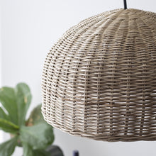 Load image into Gallery viewer, Large Rattan Pendant