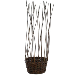 Willow Gathered Baskets
