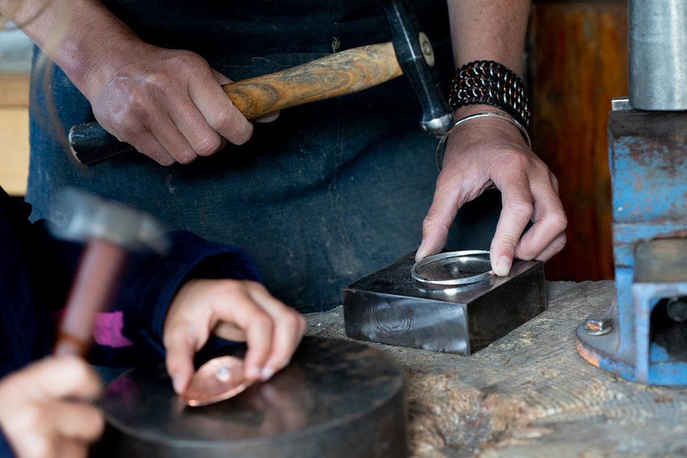 Introduction to Silversmithing - WEDNESDAY NIGHTS WORKSHOP - January 6, 13, 20 + 27 2021
