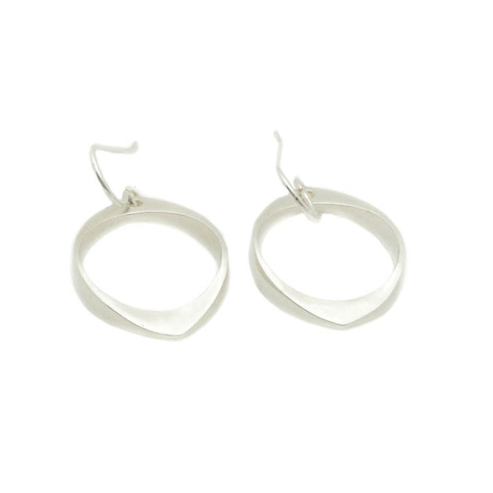 Geo Oval Earrings