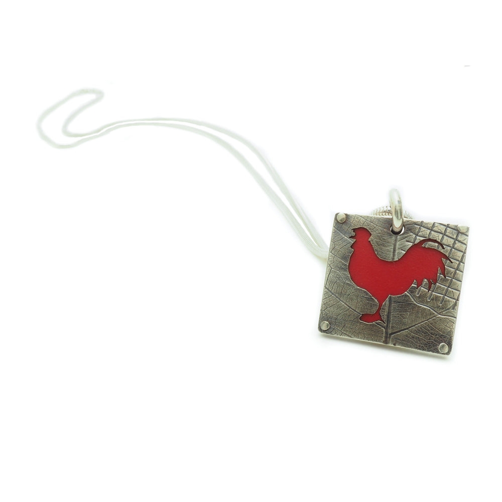 Red Rooster Necklace