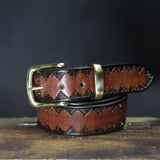 "Hand Embossed belt - 1 1/2"" (38mm)"