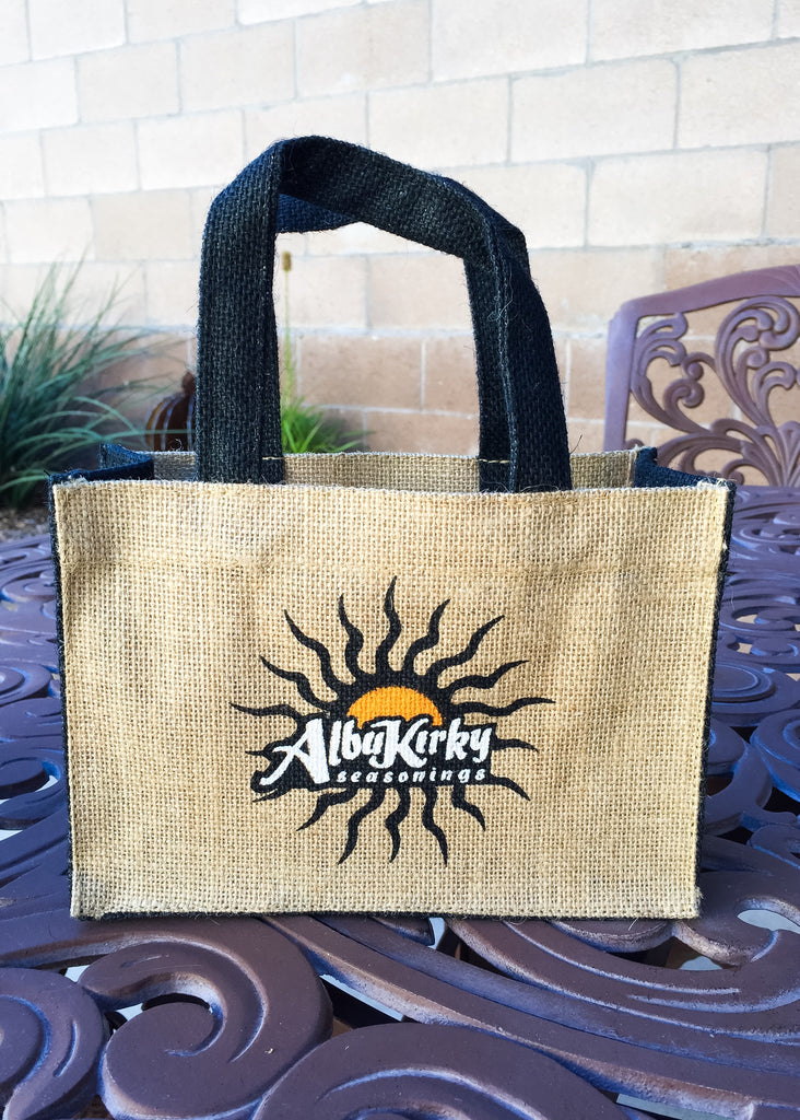 Limited Edition Burlap Gift Bag