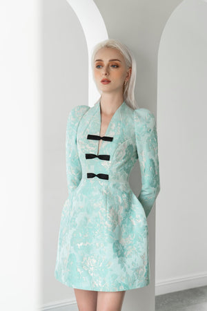 Load image into Gallery viewer, BROCADE DRESS
