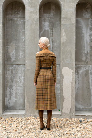 Load image into Gallery viewer, Michelle Dress Coat - Plaid