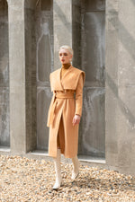 Anastasia Trench Coat - Beige
