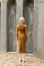 Melania Dress - Brown