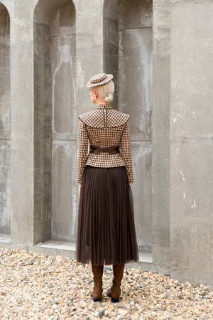 Load image into Gallery viewer, Mesh Skirt - Brown