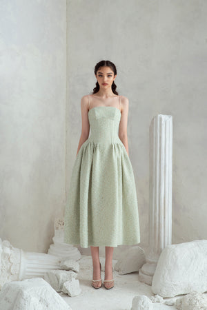 Rania Dress - Mint