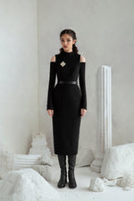 Melania Dress - Black