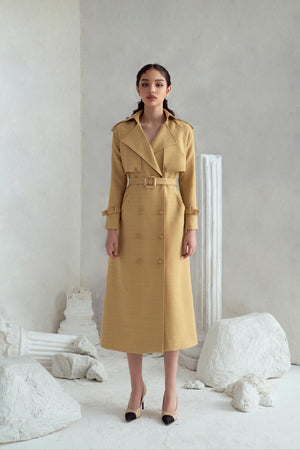 Load image into Gallery viewer, Amelia Trench Coat