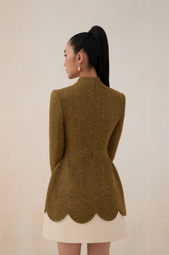 Load image into Gallery viewer, Keisha Dress Olive