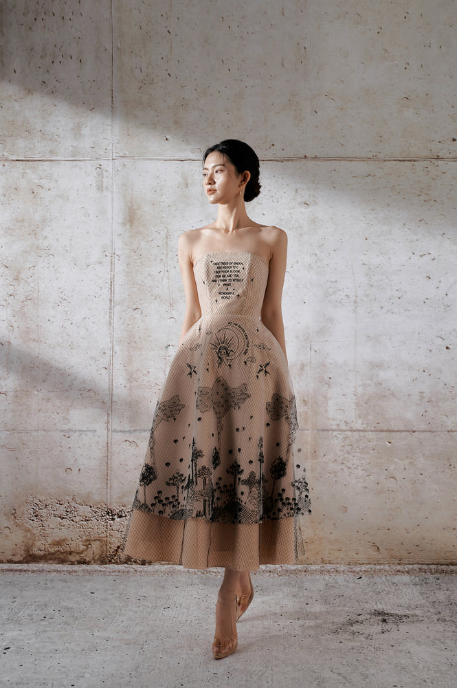 Wonderful Embroidery Dress