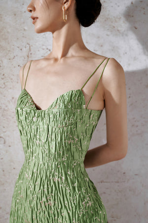 Load image into Gallery viewer, Brocade Bamboo Dress