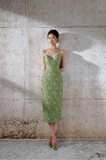 Brocade Bamboo Dress