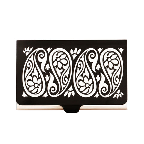 Paisley Visiting Card Holder