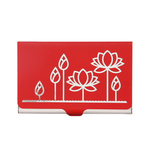Lotus Visiting Card Holder