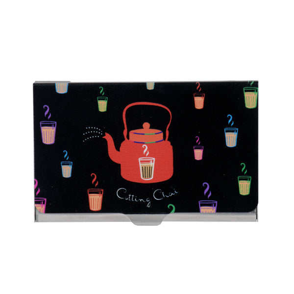 Cutting Chai Visiting Card Holder