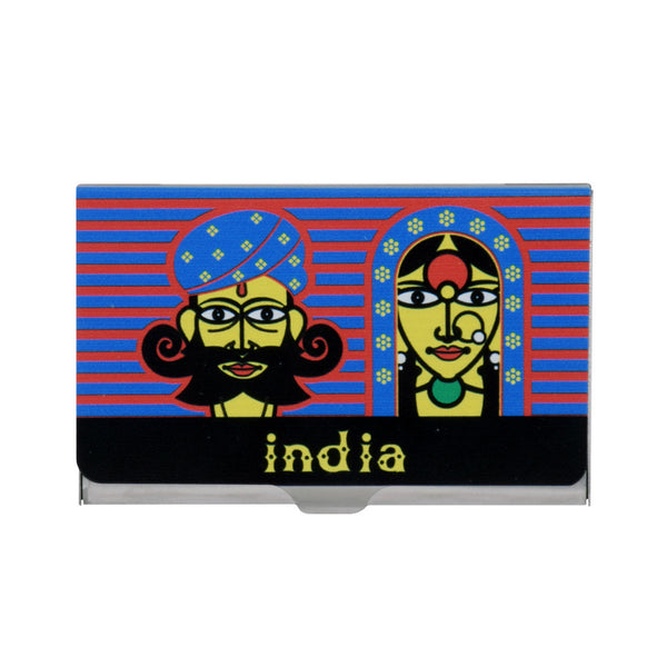 Rajasthani Couple Visiting Card Holder