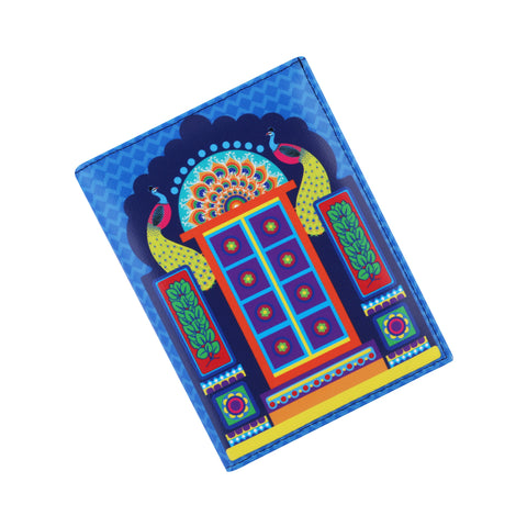 Peacock Gate Passport Holder