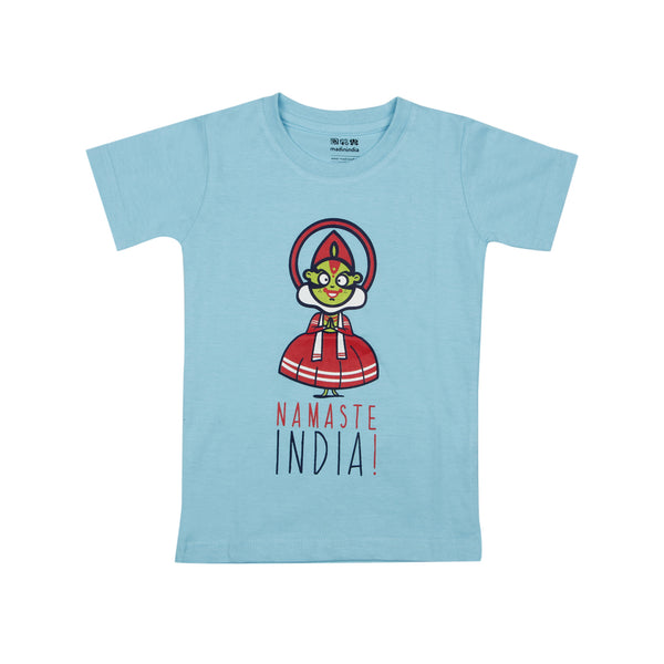 Kathakali Dancer Kids T-shirt