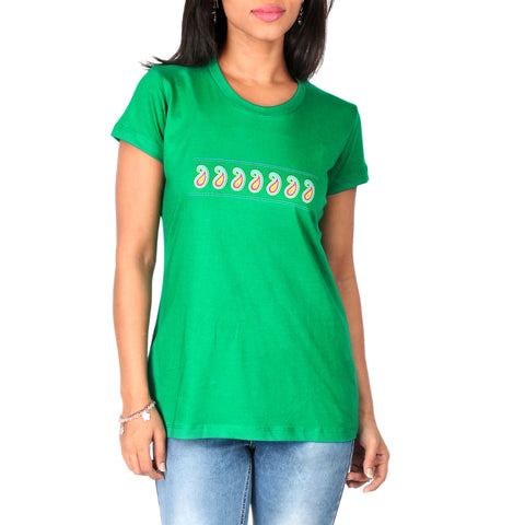 Paisely Ladies T-Shirt