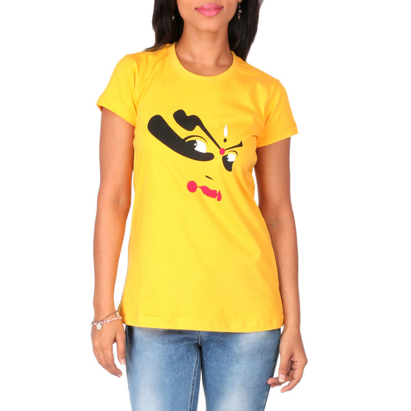 Kathakali Eyes Ladies T-Shirt