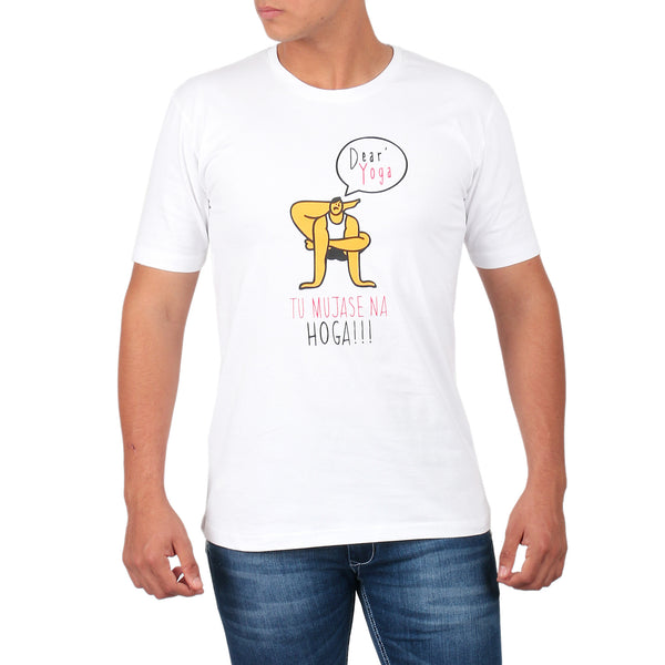 Yoga tu mujhase na hoga Men's T-Shirt