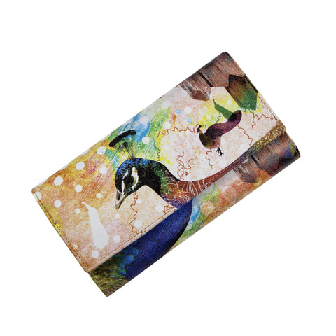 Peacock Womens Clutch