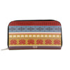 Lotus Zipper Women's Clutch