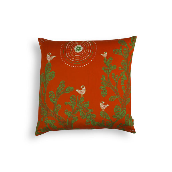 Gond Art Cushion Cover
