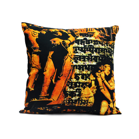 Khajurao Cushion Cover