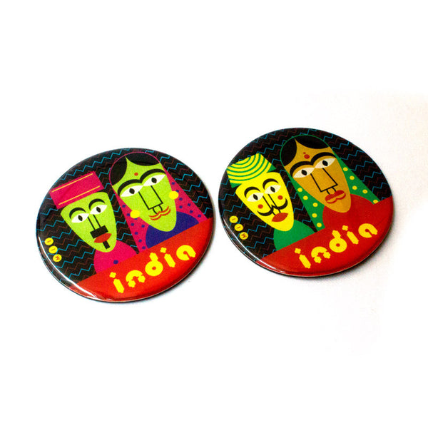 Puppet Fridge Magnets