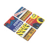 Indian Railway Coaster - Set of 4 with Stand