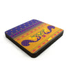 Paithani Coaster - Set of 4 with Stand