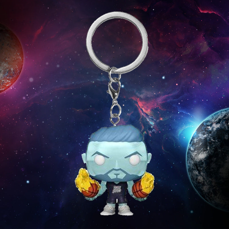 FUNKO KEYCHAIN MOVIES SPACE JAM A NEW LEGACY WET/FIRE ¡PREVENTA!