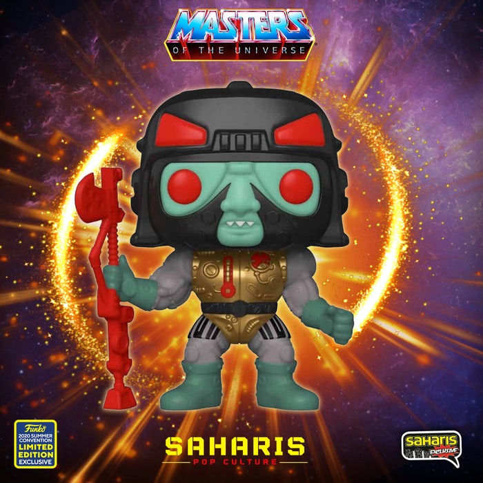 FUNKO POP ANIMATION BLAST ATTACK 1017 SDCC 2020 EXCLUSIVO SAHARIS ¡PREVENTA!