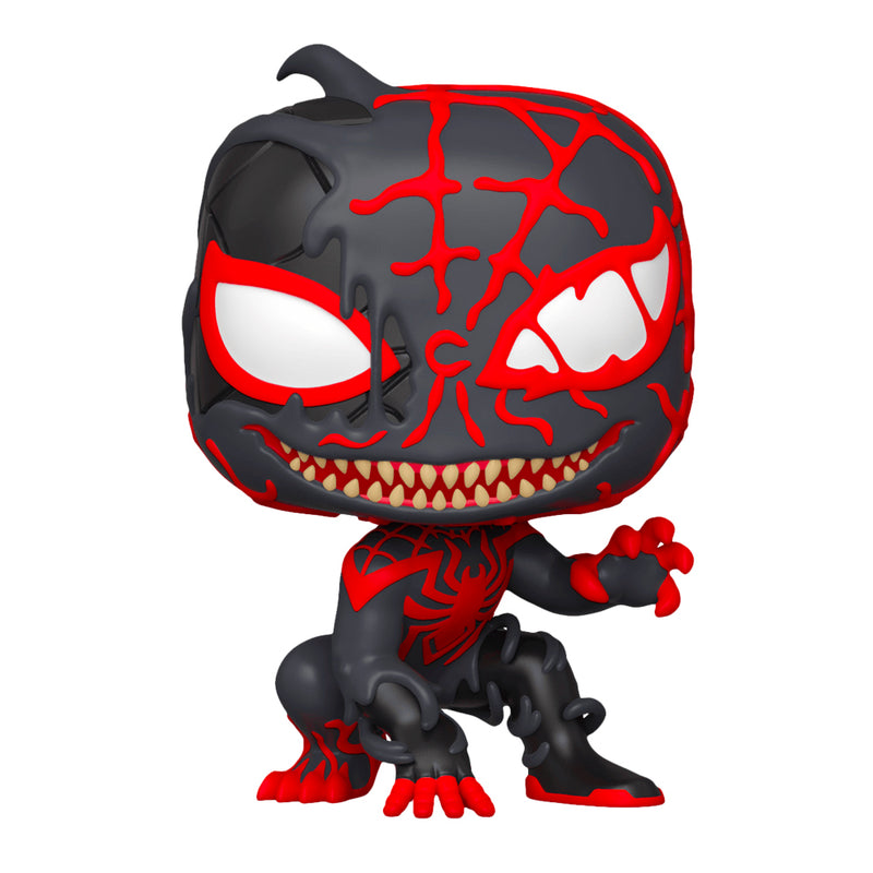 FUNKO POP MARVEL SPIDER-MAN MAXIMUM VENOM VENOMIZED MILES MORALES 600 - Saharis Pop Culture
