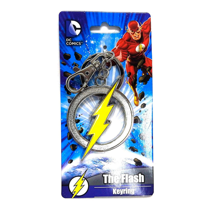 MONOGRAM KEYCHAIN DC THE FLASH