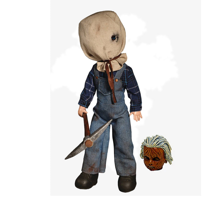 MEZCO MOVIES LIVING DEAD DOLLS FRIDAY THE 13TH PART II JASON VOORHEES