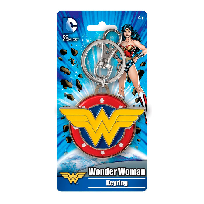 MONOGRAM KEYCHAIN DC WONDER WOMAN
