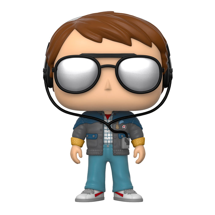 FUNKO POP MOVIES BACK TO THE FUTURE MARTY MCFLY WITH GLASSES PROXIMAMENTE!