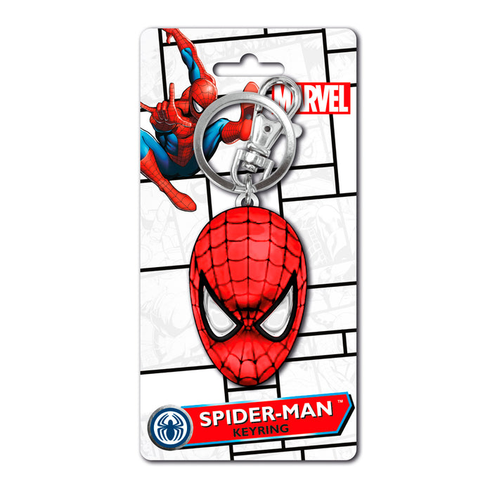 MONOGRAM KEYCHAIN MARVEL SPIDER-MAN