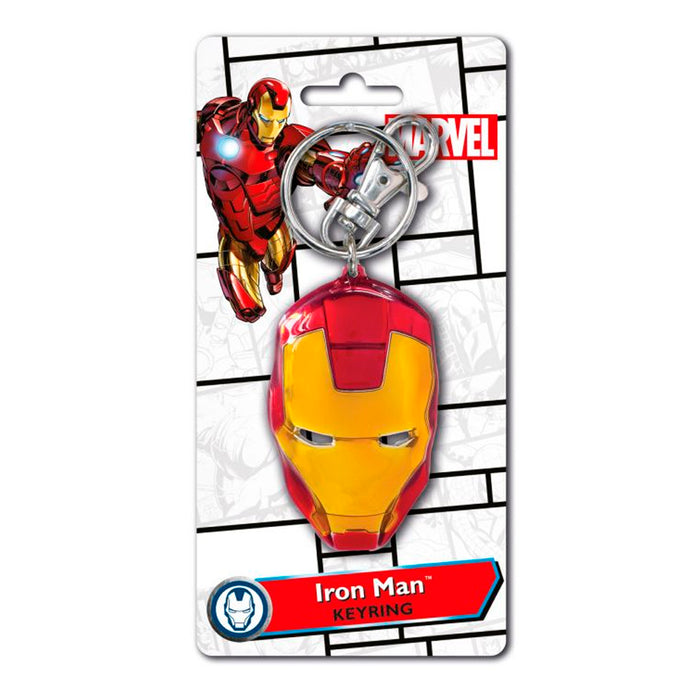 MONOGRAM KEYCHAIN MARVEL IRON MAN