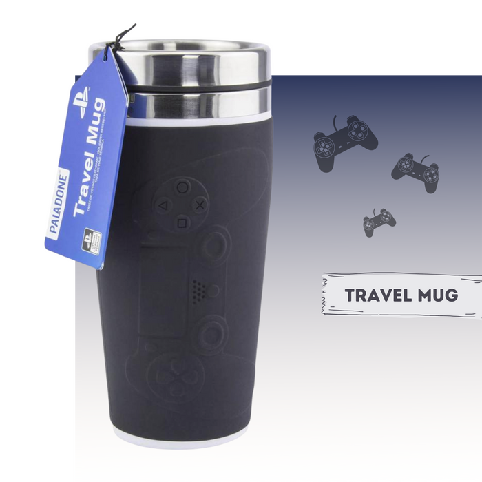 PALADONE GAMES PLAYSTATION TRAVEL MUG